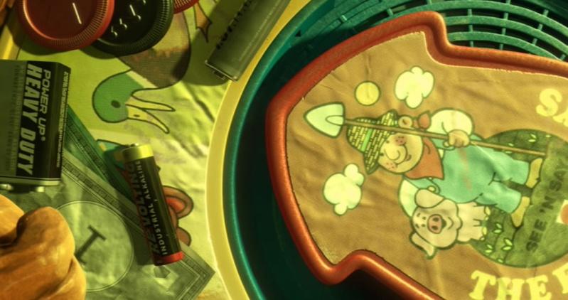 """Les clins d'oeil dans """"Toy Story 3"""". Revolt10"""