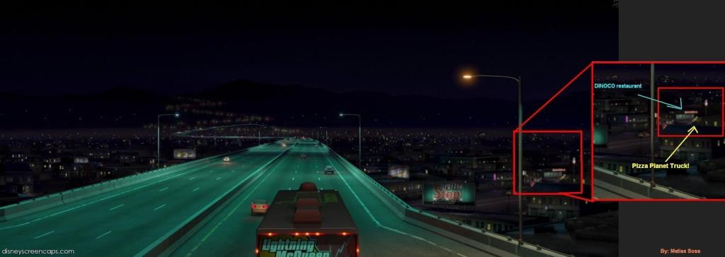 """Les clins d'oeil dans """"Cars"""". The_aw15"""