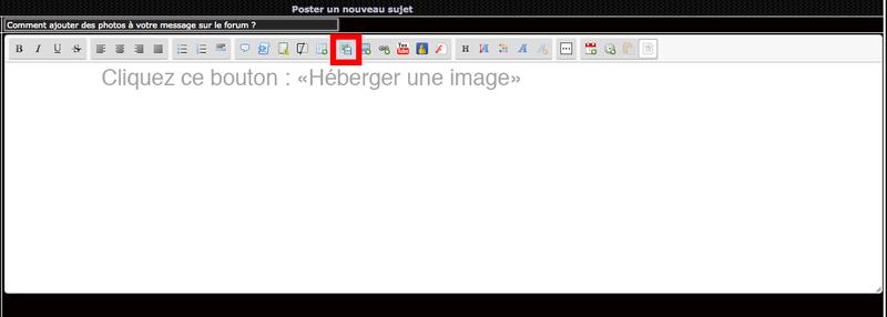 Ajout d'images dans vos messages sur le forum Captur11