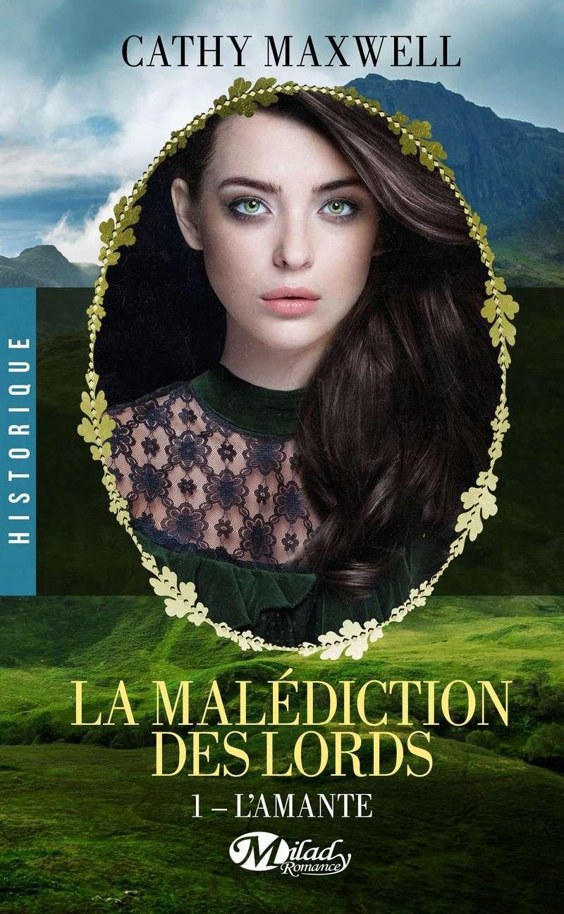 MAXWELL Cathy - LA MALEDICTION DES LORDS - Tome 1: L'amante Cm10