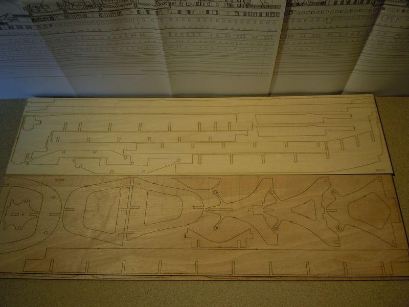 RMS Titanic 1:144 Dscn5025