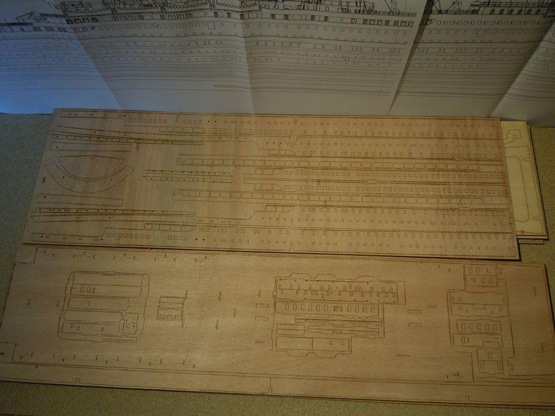 RMS Titanic 1:144 Dscn5026