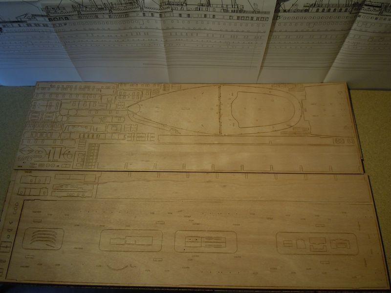 RMS Titanic 1:144 Dscn5028