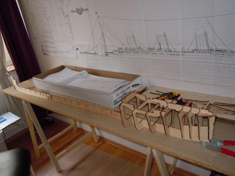 RMS Titanic 1:144 Dscn5030