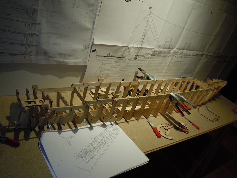 RMS Titanic 1:144 Dscn5036