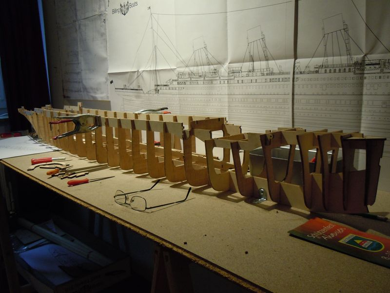 RMS Titanic 1:144 Dscn5038