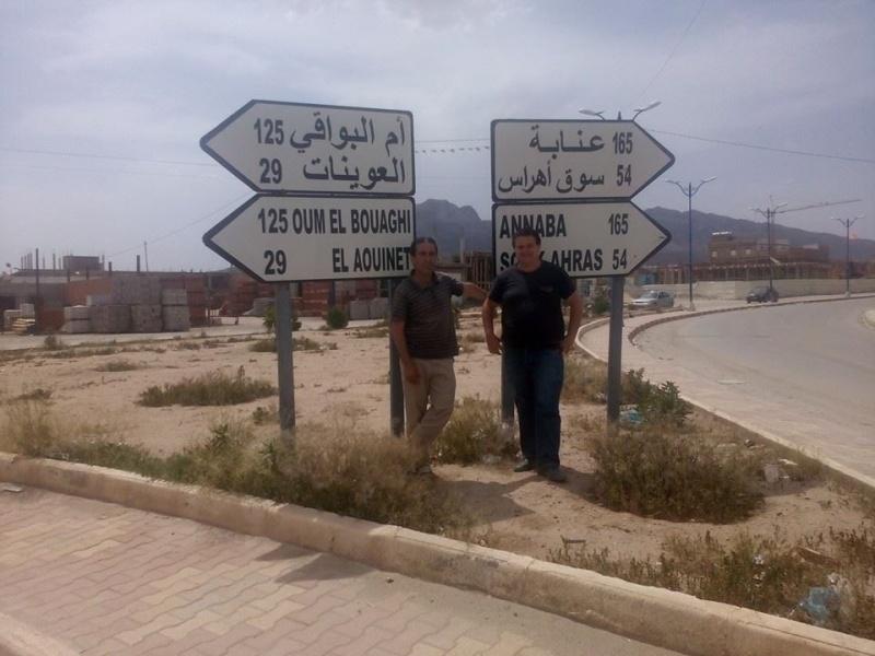 Hafit continue à sillonner les différentes localités de Tebessa avec son ami Mokhtar.(Juin 2016) 113