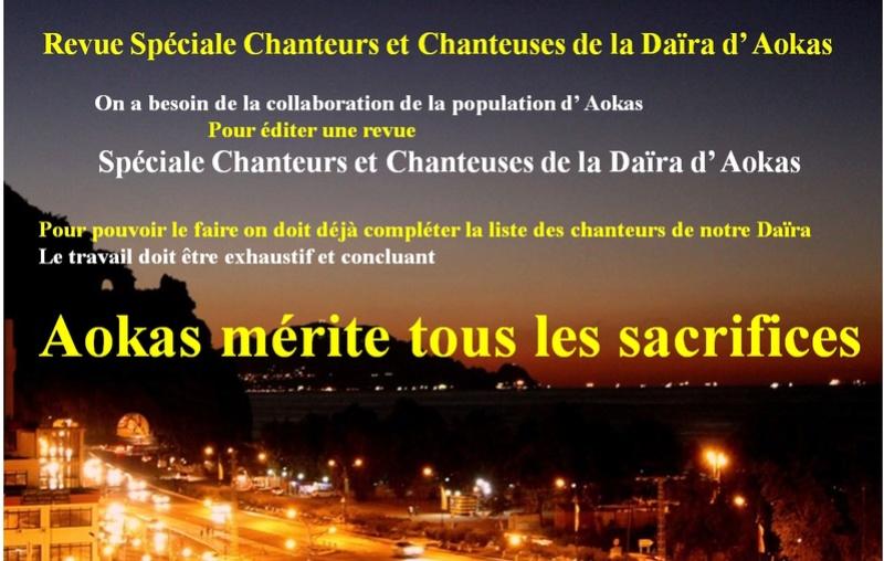 Revue Spéciale Chanteurs et Chanteuses de la Daïra d' Aokas  Revue10