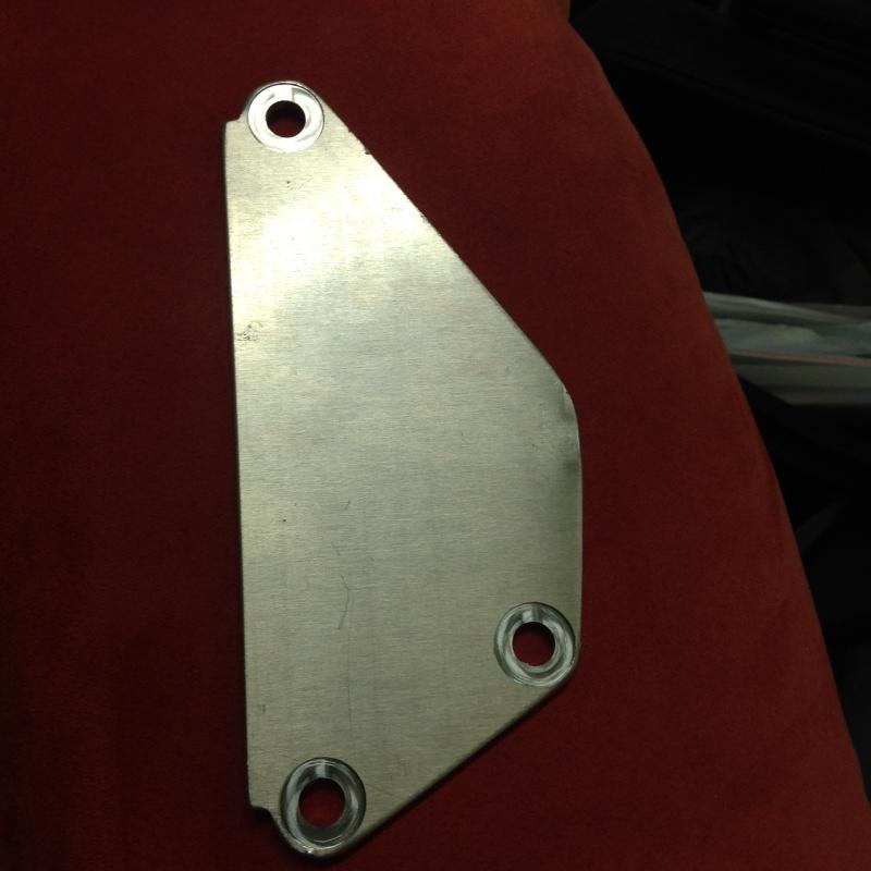 Plaque anti-fuite moteur Image14