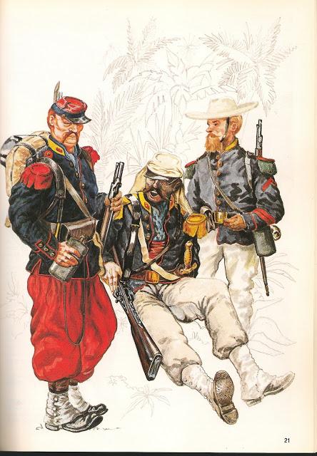 Baroud d'honneur de la Légion à la bataille de Camerone 22-41e10