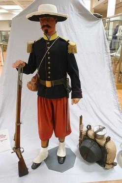 Baroud d'honneur de la Légion à la bataille de Camerone 75170110