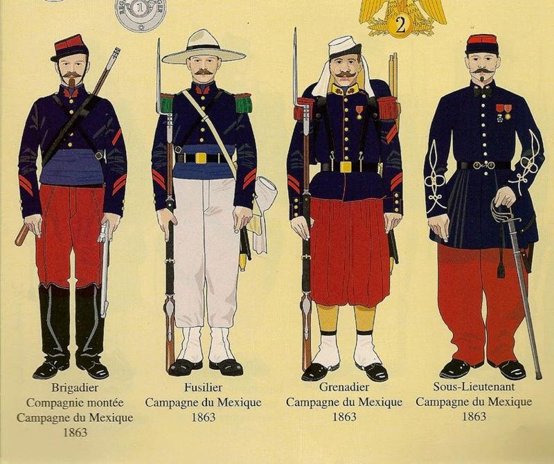Baroud d'honneur de la Légion à la bataille de Camerone 90909010