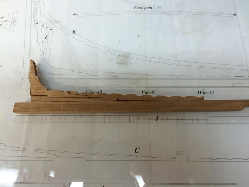 l'amarante corvette de 1747  sur plan de Mr Delacroix  - Page 2 2-img_14