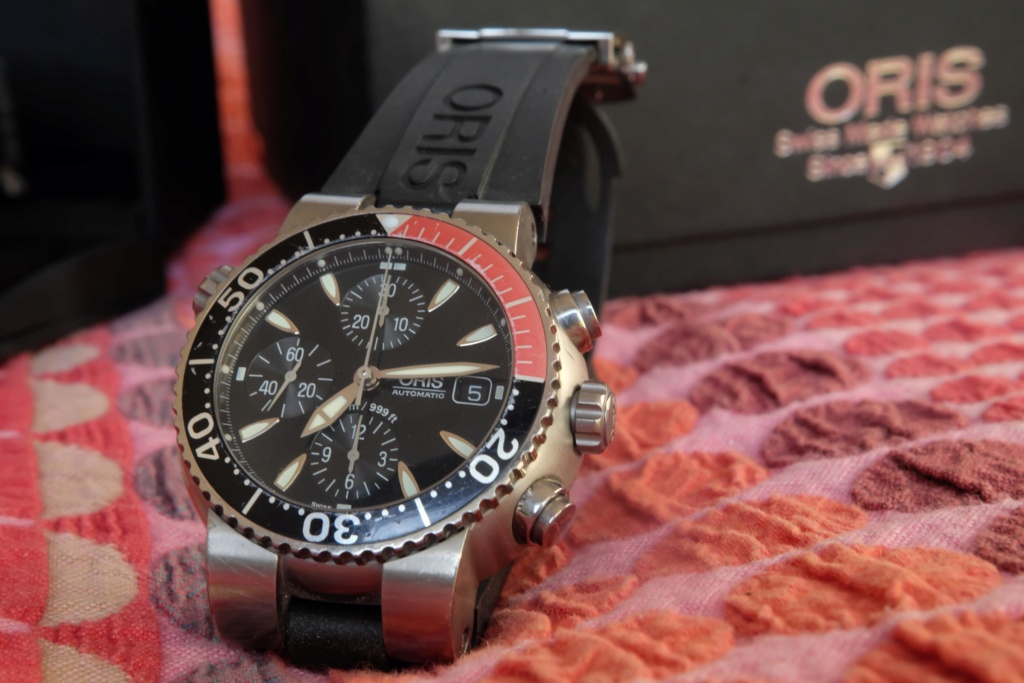 [Vendue] Oris Tt1 Diver Titan chronographe 650 € Photo_11
