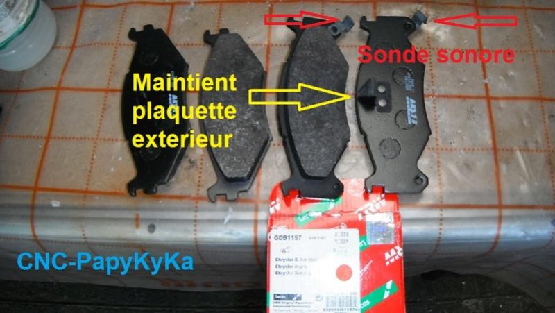 Train avant, démontage et révision, Frein, roulement, rotule, transmission.... Dscf1410