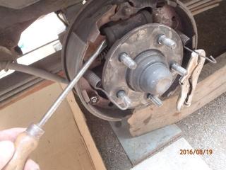 Nettoyage de frein à tambour S2/95 P8190018
