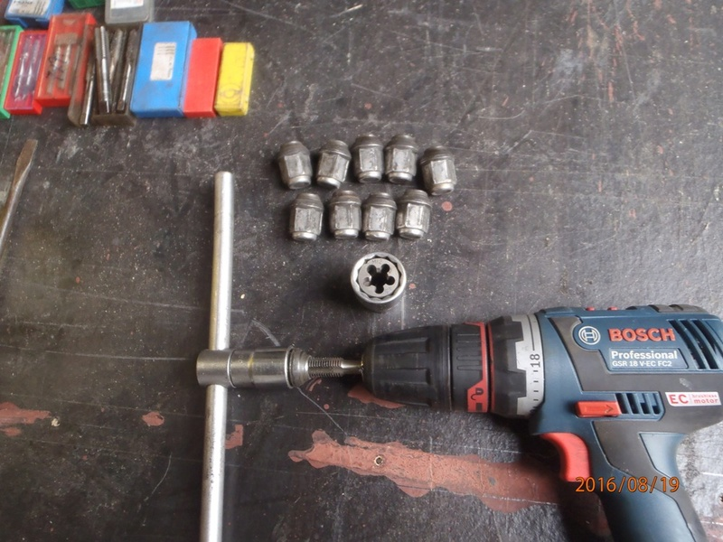 Nettoyage de frein à tambour S2/95 P8190023