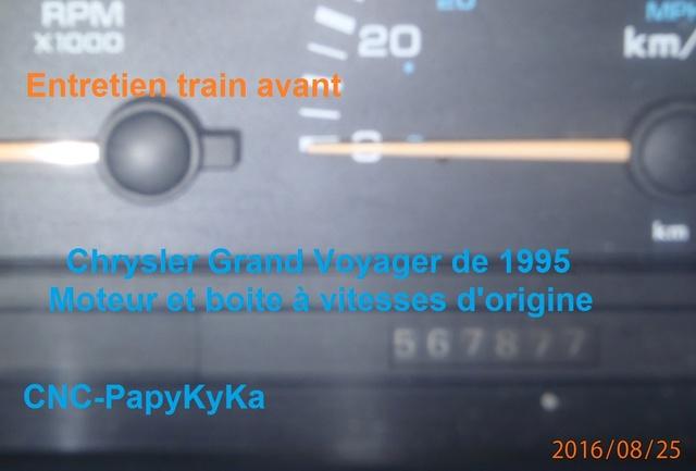 Train avant, démontage et révision, Frein, roulement, rotule, transmission.... P8250020