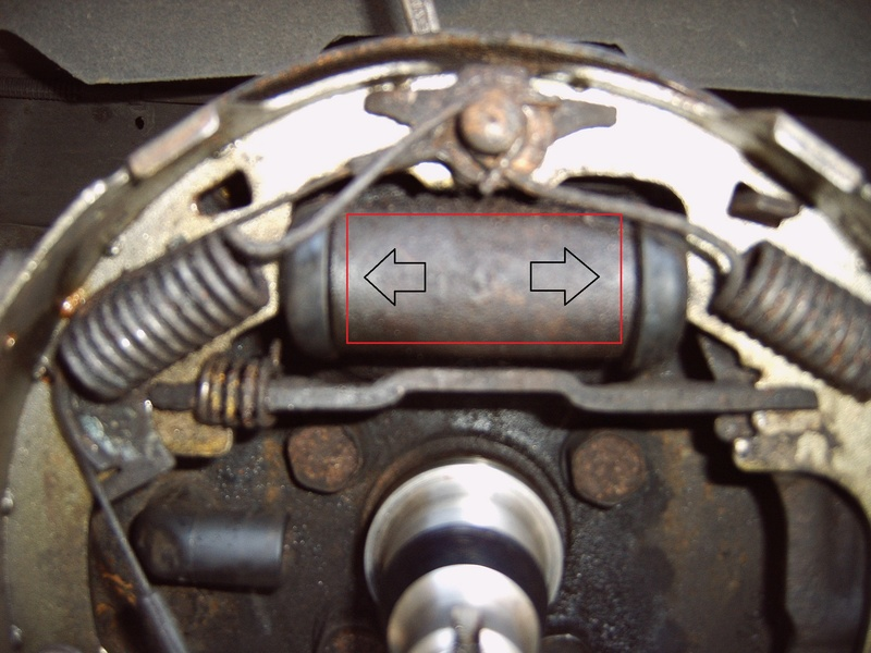 Nettoyage de frein à tambour S2/95 Voyage10