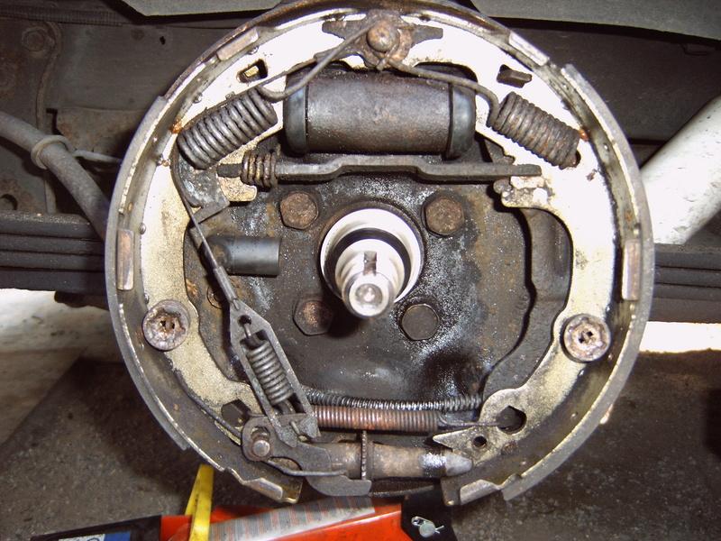 Nettoyage de frein à tambour S2/95 Voyage11