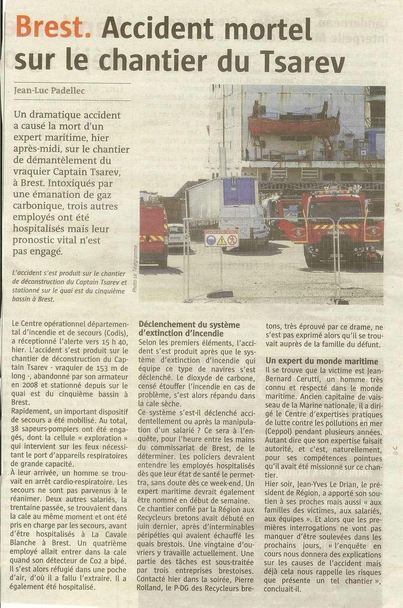 [Autre sujet Marine Nationale] Démantèlement, déconstruction des navires - TOME 2 - Page 20 Tsarev10