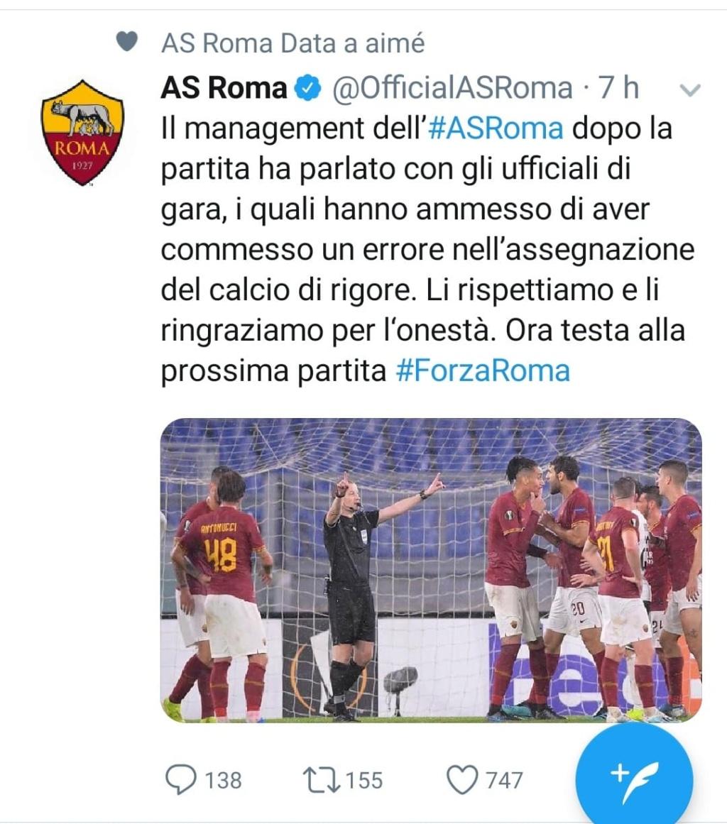 (Phase de poule) 3ème journée: AS Roma 1-1 Monchengladbach 73446210