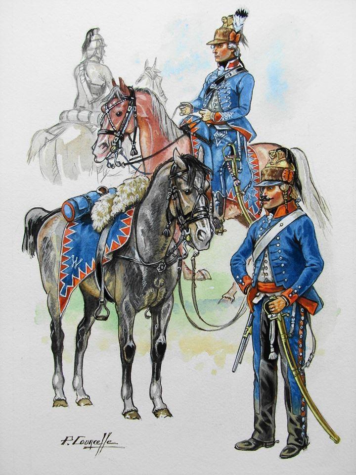 L'émigration militaire dans l'œuvre de Patrice Courcelle. Chasse11