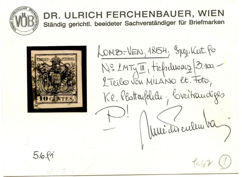 Briefmarken - Lombardei - Venetien 1850 - 1858 - Seite 4 2m_typ11
