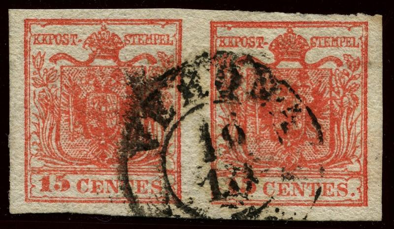 Briefmarken - Lombardei - Venetien 1850 - 1858 - Seite 4 Lv_3h_10
