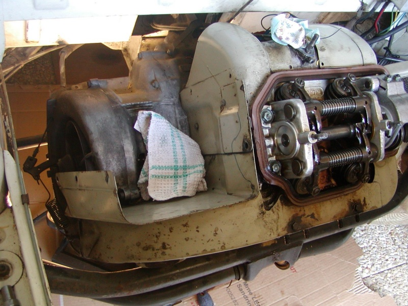 Dépose embrayage Prinz 4 Photo110