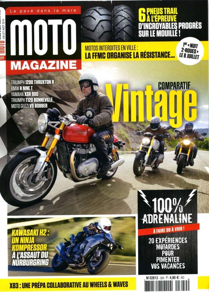 Moto magazine de juillet Motoma10