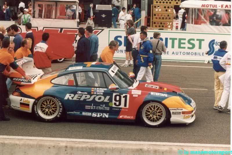 1995 Repsol Porsche 911 Gt2 C2100w10