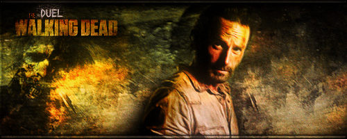 Poll duel n°1 Signature Walking dead Dolce11