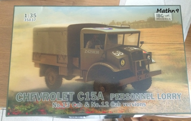 Chevrolet C15A Cab 12 Personnel Lorry [IBG 1/35] Img_0624