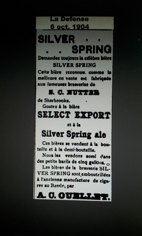 Petite Silver Spring Bottling Works, Sherbrooke Que.  00611