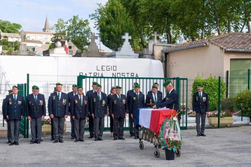 Départ vers le dernier bivouac du Major José FALCO 13692510