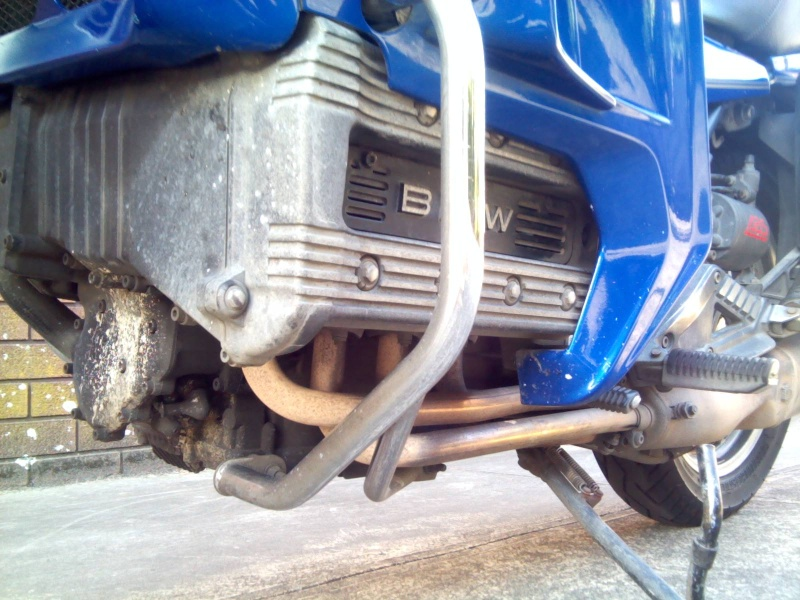 K1100 crash bars 152710