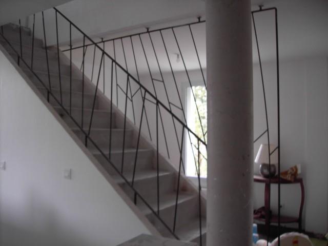 [Conseils Brico] Faire sa rampe d'escalier soi-même Garde-10
