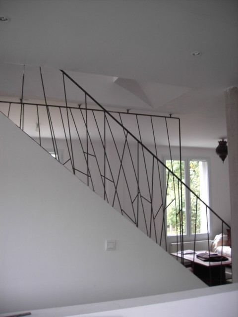 [Conseils Brico] Faire sa rampe d'escalier soi-même Garde-11