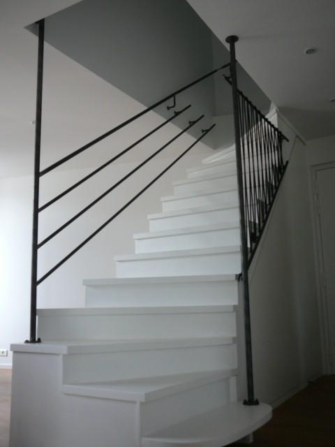 [Conseils Brico] Faire sa rampe d'escalier soi-même Garde-12