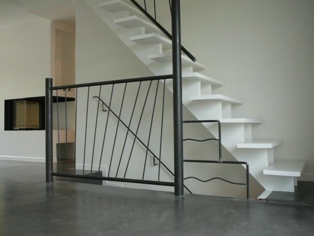 escalier béton ciré Garde-21
