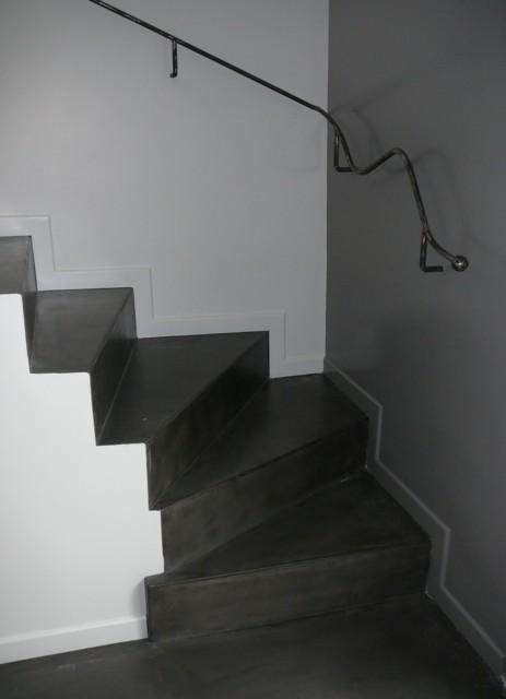 escalier béton ciré Rampe_12