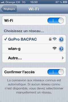 Problème connexion entre L'Iphone et le Wifi BacPac Img_2614