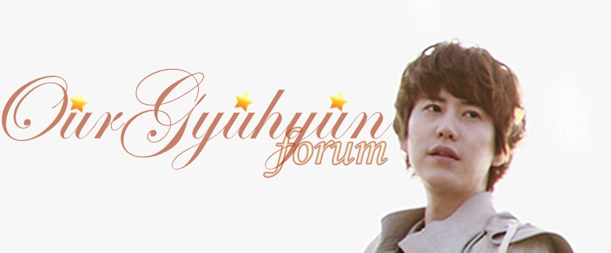 OurGyuhyun Forum Our110