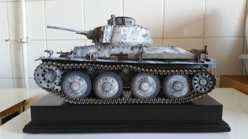 Panzer 38(T) Ausf.E/F - 1/16 - PANDA HOBBY. mise en boue  - Page 11 20160710