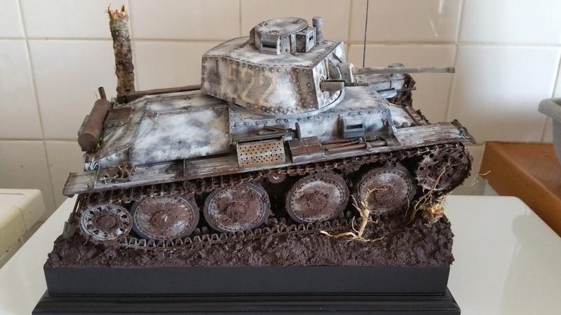 Panzer 38(T) Ausf.E/F - 1/16 - PANDA HOBBY. mise en boue  - Page 13 20160732