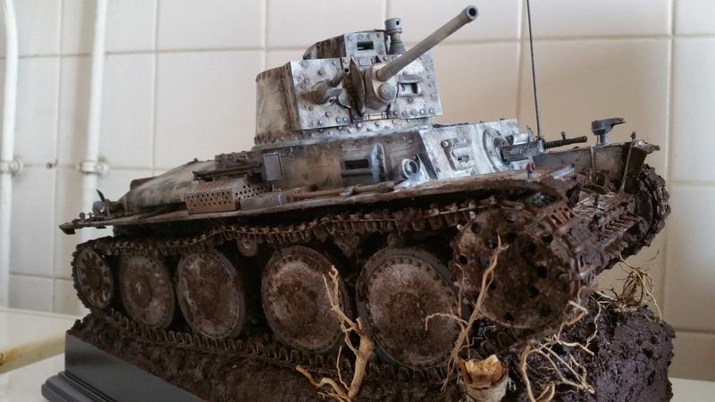 Panzer 38(T) Ausf.E/F - 1/16 - PANDA HOBBY. mise en boue  - Page 13 20160733