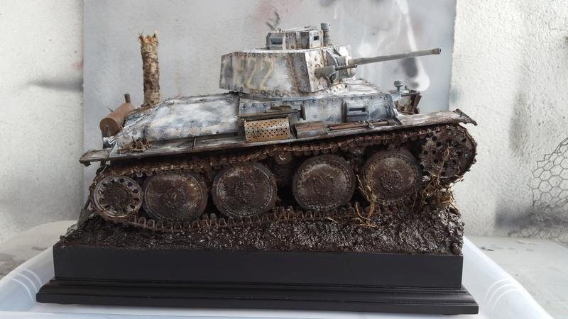 Panzer 38(T) Ausf.E/F - 1/16 - PANDA HOBBY. mise en boue  - Page 13 20160736