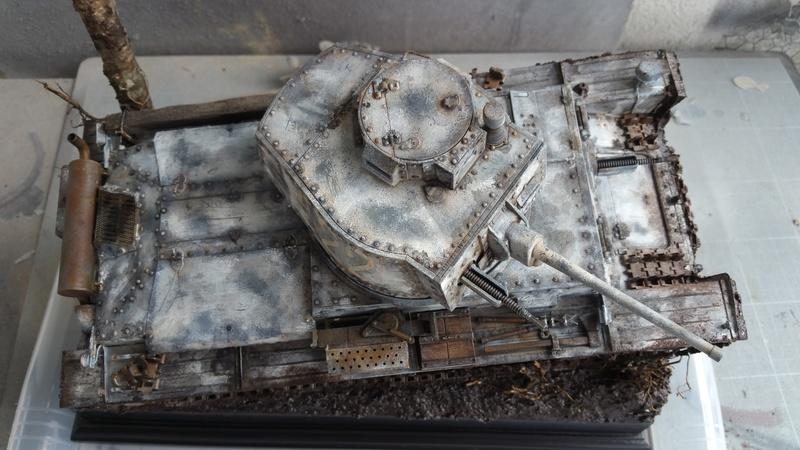 Panzer 38(T) Ausf.E/F - 1/16 - PANDA HOBBY. mise en boue  - Page 13 20160737
