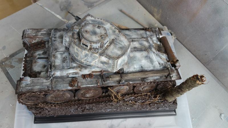 Panzer 38(T) Ausf.E/F - 1/16 - PANDA HOBBY. mise en boue  - Page 13 20160738